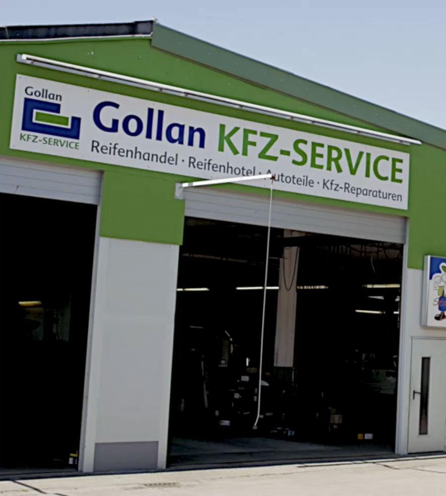 Werkstatt & Reifen | Gollan Unternehmensgruppe